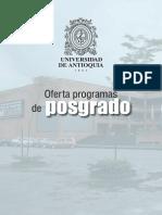 Programas de Posgrado 2013