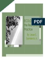 ECOLOGY & Real Estate v1.11.11 Part 1 Ecology