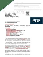 ITG 1000 – MODELO CONTÁBIL PARA MICROEMPRESA E EMPRESA DE PEQUENO PORTE