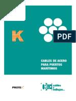 Cables de Acero Para Puertos Maritimos