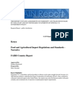 Food and Agricultural Import Regulations and Standards - Narrative_Nairobi_Kenya_10!15!200