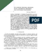 Evolución del Derecho Procesal Mexicano, antecedentes, desarrollo histórico problemas centrales y soluciones, Santiago Oñate.