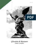 glossario de restauração