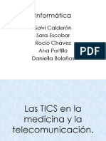 TICS EN LA MEDICINA Y TELECOMUNICACION.pptx