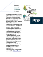 Óscar Carpintero LA BIOECONOMIA DE GEORGESCU-ROEGEN