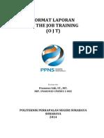 Format Laporan OJT 2014