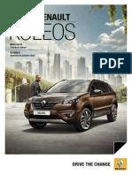 Ficha Técnica Renault Koleos