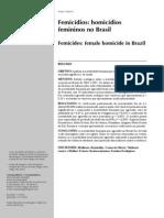 Femicidios No Brasil