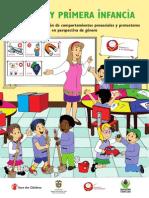 Cartilla - Género y primera infancia