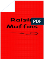 Raisin Muffins (Menu Card 1)