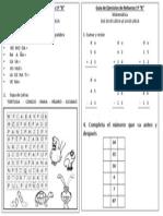 Guía complementaria 1° B
