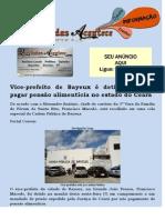 Vice-prefeito de Bayeux é detido por não pagar pensão alimentícia no estado do Ceará