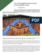 AUTOGESTIÓN Y MOVIMIENTOS SOCIALES LATINOAMERICANOS