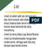 Struktur Data Linked List 1