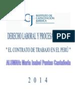 El Contrato de Trabajo Peruano