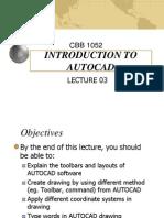 Ed_lec03 Intro Autocad
