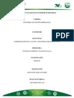 RIESGOS Mecanicos y Quimicos