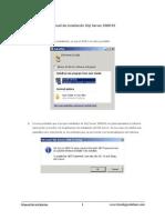 Manual de instalación SQL Server 2008 R2
