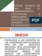 GUIA PARA EL ACOMPAÑAMIENTO PSICOSOCIAL A NIÑOS,NIÑAS Y