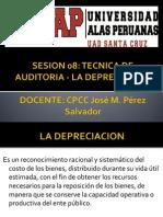Sesion 08 La Depreciacion
