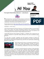 hime Newsletter Aug