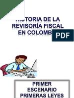 Historia de La Revisoria Fiscal en Colombia