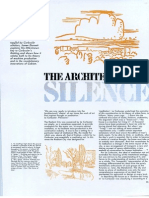 00-85 the Architecture of Silence AR Oct 85