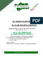Reglamento Al-Andalus 2014