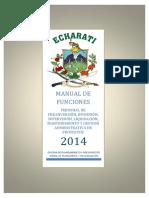 Manual de Funciones - Pre Inv, Inv, Sup, Liq y Gestion Adm 20140110