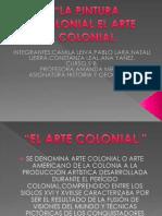La Pintura Colonial.