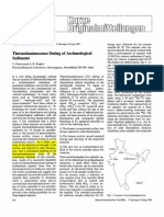 Thermoluminescence Dating of Archaeological
