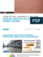 Traffic Analysis in Cities