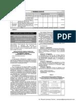 OSINERGMIN - Aprueban tipificación de infracciones, multas sanciones para supervisión y Fiscalización de la Actividad Minera