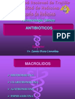ANTIBIOTICOS MACRÓLIDOS AMINOGLUCOSIDOS