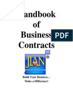 Handbook of Business Contracts