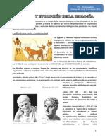 HISTORIA DE LA BIOLOGÍA 4to