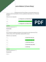 Evaluación Módulo 3 (Frame Relay) cisco semestre 4