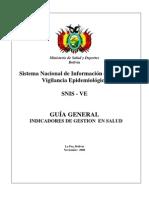 Guía General Indicadores de Gestión en Salud.