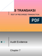 Audit Arens 6 Test of Recorded Transactions1