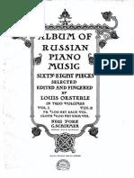 Album of Russian Piano Music - Vol.2