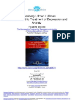 The Homeopathic Treatment of Depression and Anxiety Judyth Reichenberg Ullman Robert Ullman.09574 1