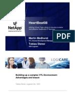 NetApp VTL by Martin Medhurst, VTL Channel Business Manager NetApp and Tobias Diener, CEO Logicare, Switzerland