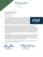 Senators Pen Letter to Secretary Moniz on MOX