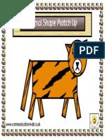 Animal Shape Match Up