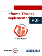 Informe Final Educaccion Año 2013
