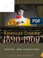 [Screen Decades] Andre Gaudreault (Ed.) - American Cinema 1890 - 1909 ~ Themes and Variations