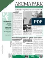 Takoma Park Newsletter - March 2014
