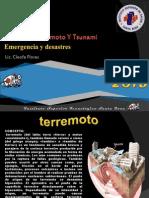 Temblor. Terremoto y Tsunami