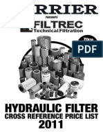 Replacement Filter Prices - 2013