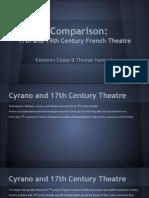 17th vs 19th Century French Theatre Comparison